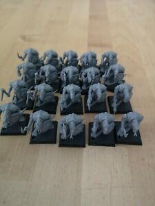 Warhammer Fantasy Lizardmen Plastic Warriors x20