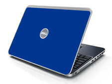 BLUE Vinyl Lid Skin Cover Decal fits Dell Inspiron 15R N5010 Laptop