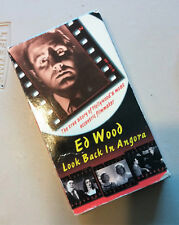 Ed Wood Look Back in Angora VHS Tape Documentary