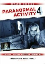Paranormal Activity 4 Directors Cut Unrated DVD