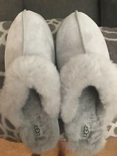 Ugg Women's Size 12 Gray Slippers