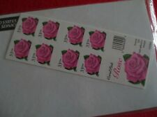 Doc's Scott #3052 Coral Pink Rose 33¢ Booklet of 20 Mnh Xf