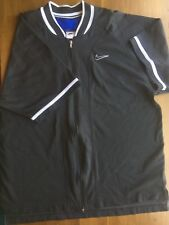 Euc Nike Men's L Short Sleeve Shirt Jacket Casual Training Athletic Runs Big Xl