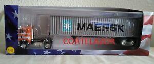CAMIÓN TRUCK FREIGHTLINER COE MAERSK USA 1976 IXO 1/43 NUEVO NEW MINT IN BOX