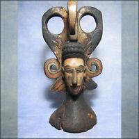 AFRICANTIC MASQUE CIMIER IGBO NIGERIA ARTS PREMIERS ART AFRICAIN ANCIEN AFRIQUE