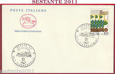 ITALIA FDC CAVALLINO 91 ^ FIERACAVALLI VERONA 1989 ANNULLO U571