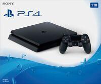 Sony PlayStation 4 1TB Console - Jet Black