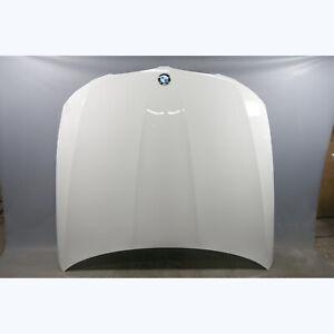Damaged 2009-2012 BMW E90 3-Series E91 4dr Front Engine Hood Bonnet Cover White