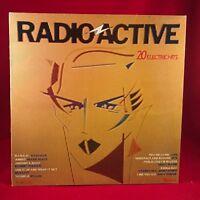 VARIOS Radio Active 1980 UK Vinyl LP Record EXCELLENT CONDITION