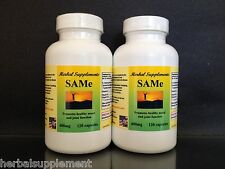 SAM-e 400mg ~ 240 (2x120) capsules, depression, pain, spine, hips. Made in USA.