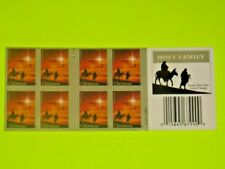 """Wow! (2012), Christmas """"Holy Family"""" *Usps 'Sealed' ~ 'Forever' Stamp Booklet!"""