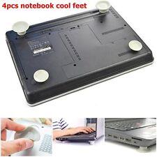 4*Laptop Notebook Antiskid Cooling Cooler Stand Cool Ball Leg Feet Skidproof Pad