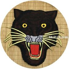 Leopard  patch / Tattoo Patch / Large patch / Embroidered patch / Sew on patch