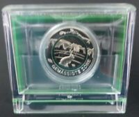 "Euro Gemäßigte Zone 2019 Commemorative Coin "" D "" Green Polymer Ring Mirror"