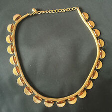 Unbranded Gold Necklace Vintage Costume Jewellery (1950s)