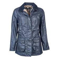 Barbour Navy Beadnell Jacket Size 14
