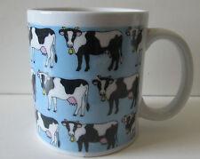 Black and White Cow Mug Holstein Cow Mug Cup