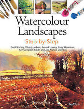 Watercolour Landscapes Step-by-Step (Painting Step-by-Step), Wendy Jelbert, Barr