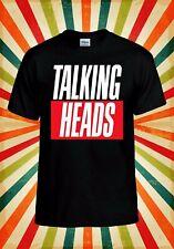 Talking Heads Punk Rock Retro Cool Men Women Vest Tank Top Unisex T Shirt 2210