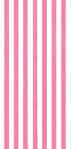 "30""x60""  Cabana Stripes Pink Beach Towel"