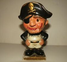 1960 Pittsburgh Pirates Gold Base Square Bobblehead Nodder Baseball Japan