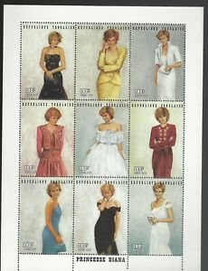 Princess Diana Souvenir Sheet Togo