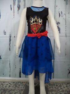 Disney Descendants 3 Evie Costume Wedding Princess Dress Size XS M L XL New