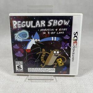 Regular Show Mordecai & Rigby in 8-Bit Land Nintendo 3DS 2DS UK Game