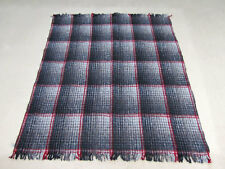 #4358 One Traditional Mexico Recycled Wool Fiber Blanket Yoga Accessories Mat