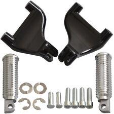 Aluminium Passenger Rear Foot Pegs Mounting for Harley 1200 XL Sportster 04-13
