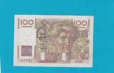 Billet 100 Francs Jeune Paysan - 06-08-1953 - filigrane inversé