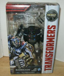 Transformers The Last Knight Premier Edition ~ Deluxe Class Barricade ~ NIP VHTF