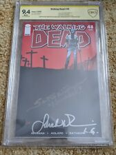 Walking Dead #48 CBCS 9.4 2x signed: Callie, Wilson - witnessed with comments