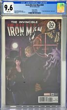 INVINCIBLE IRON MAN #599 CGC 9.6 : VENOM 30TH ANNIVERSARY VARIANT COVER