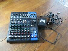 Yamaha Mixing Console Mg10Xu 10 Channel + Ac Power Adapter, Pre-owned