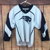 New England Patriots Football Jersey NFL Tron #42 Men's Size Medium
