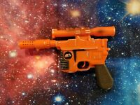 Star Wars - Electronic Han Solo Pistol DL-44 -  Star Tours - 1996 Disney