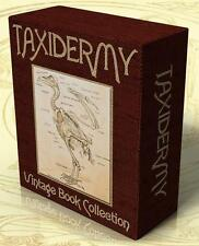 TAXIDERMY 36 Rare Vintage Books on CD Zoological Specimens, Stuffed Animals