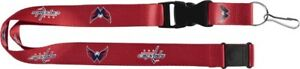 WASHINGTON CAPITALS - LANYARD - BRAND NEW NHL HOCKEY - NHL-LN-095-10