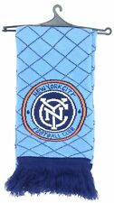 MLS New York City FC Adidas Winter Knit Fringe Scarf NEW!