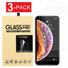 Screen Protector Tempered Glass For iPhone SE 5 6 7 8 Plus X Xs Max XR 11 Pro