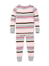 NWT Skylar Luna Girls' 100% Organic Pajama Set in Pink ~ Size 2