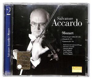 EBOND Salvatore Accardo, Mozart - Concerto violino rondo archi Vol.2 CD CD032449
