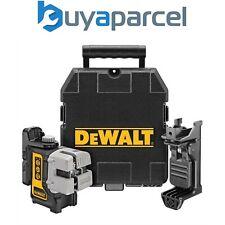DeWalt DW089K-XJ DW089K 3 Beam 3 Way Self Levelling Multi Line Laser + Bracket