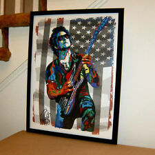 Synyster Gates Avenged Sevenfold Rock Music Poster Print Wall Tribute Art 18x24