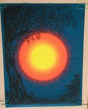 In The Morning Vintage Black Light Poster Pin-up 1968 Synthetic Trips McCulley
