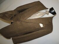 Hickey Freeman Nordstrom men's wool & cashmere Jacket coat size 40 R