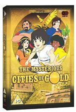 The Mysterious Cities Of Gold . Complete Series 1 . Season Animated . 6 DVD NEU