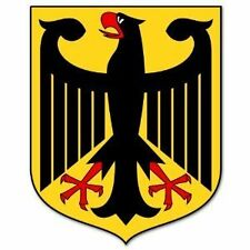 Germany German Coat of Arms garage Wall Shop Man Cave Decal sticker  2.5