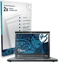 Bruni 2x Schermfolie voor Lenovo ThinkPad T430 Screen Protector